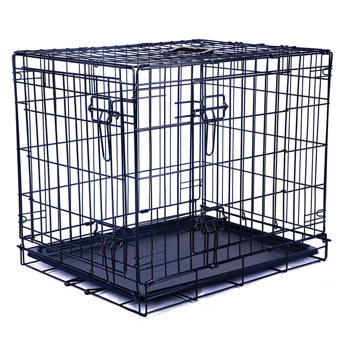 Black Wire Crate