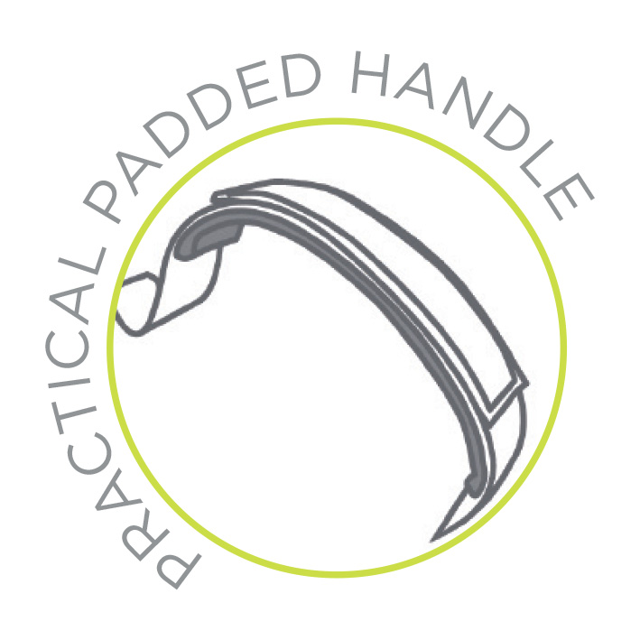 padded handle