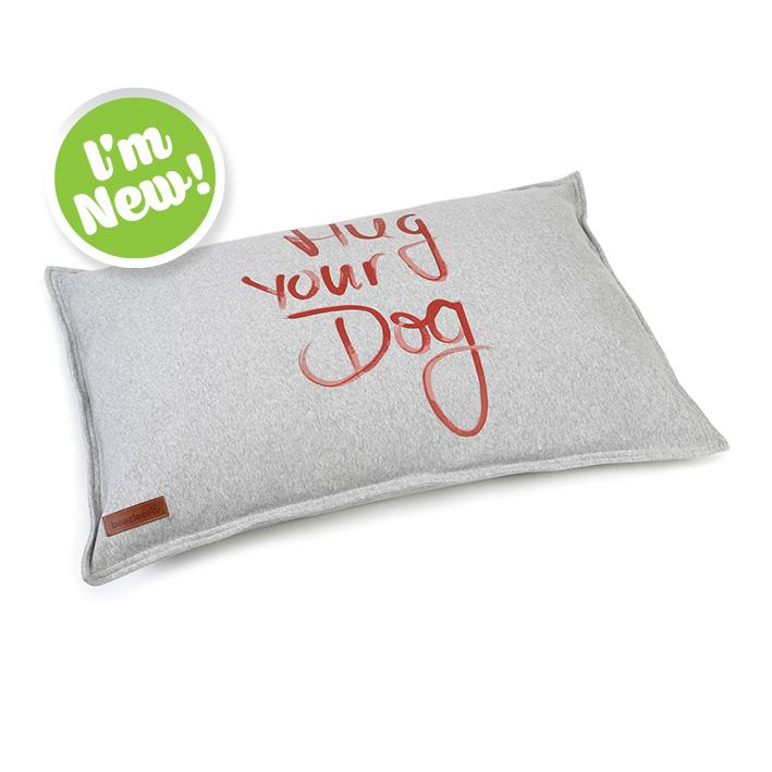 Hug your dog cushion