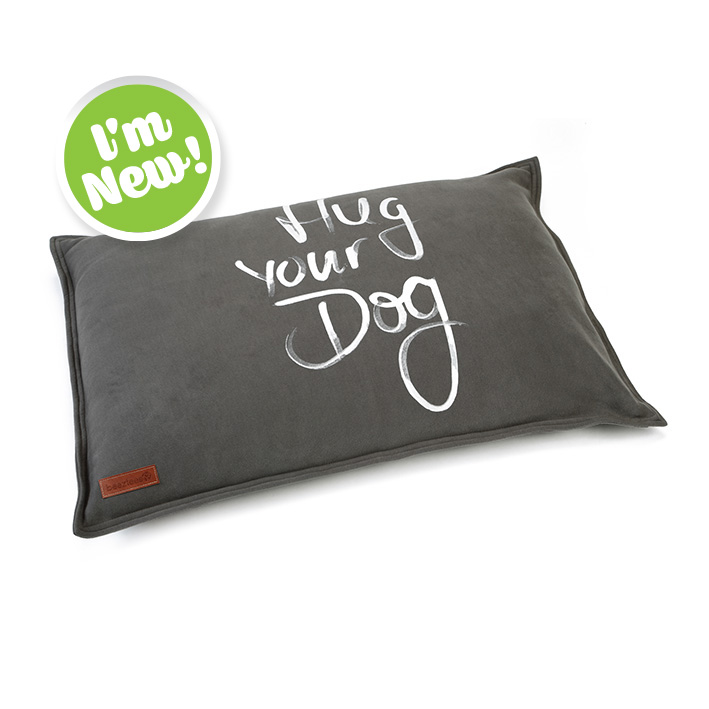 Hug your dog cushion
