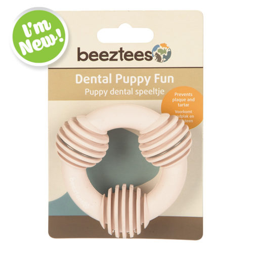 Puppy Dental Ring - Pink
