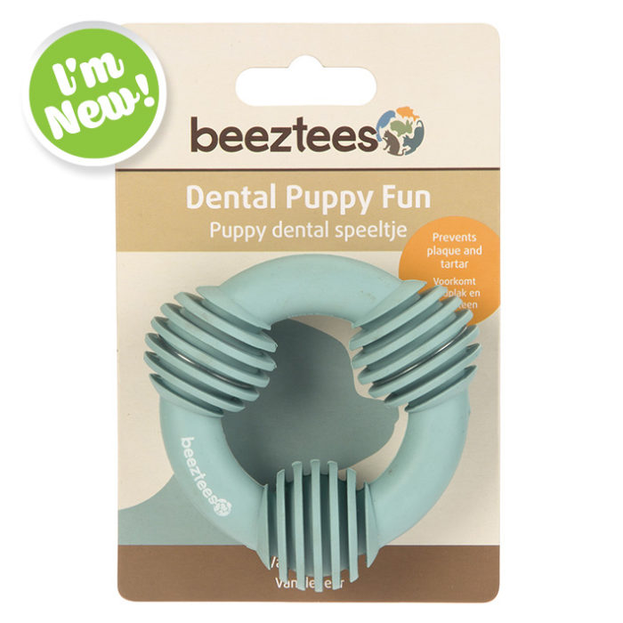 Puppy Dental Ring - Green
