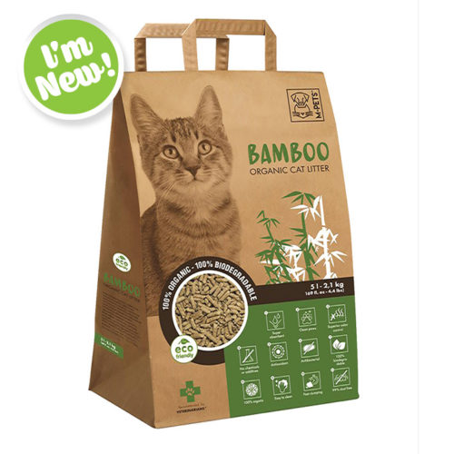 Bamboo Organic Cat Litter